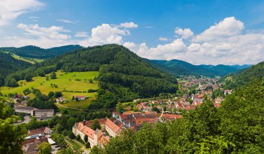 spa town in  the Black forest